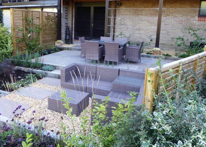 Compact Riverside Garden